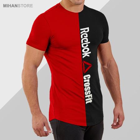 خرید پستی تی شرت مردانه Reebok طرح CrossFit